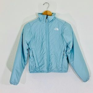The North Face Baby Blue Wind Breaker Full Zip up
